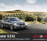 New BMW 535i Sedan