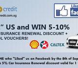 Petrol Vouchers + Car Insurance Renewal Discounts!