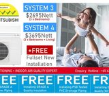 *CRAZY OFFER* MITSUBISHI AIR-CON OFFER + [NEW INSTALLATION]