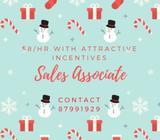 Temp Sales Associate