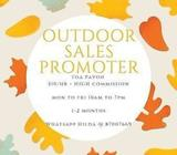 *INTERESTING JOB* $10/HR OUTDOOR SALES PROMOTER (TPY)