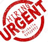 URGENT ! [TEMP] NIGHT SHIFT STUDENT WORK FOR ONE MONTH @ TUAS $99/DAY