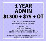 Up to $1500! SIMPLE OFFICE JOB!