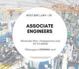 10 x Associate Engineers @ West MNC ($2400++, Start Immediately, AWS + VB)