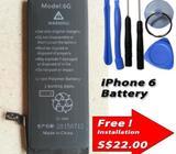 Apple iPhone 6 Internal Battery Capacity: 1800mAh include Tools Kits 616-0805 616-0809