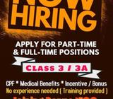 Class 3 / 3A drivers needed