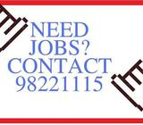 $8-10/H Admin / CSO / Telemarketer (2-3 MTH, 'A' lvls / Dip ONLY) NEEDED !! CALL 98221115 NOW !!