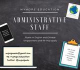Administrative Job Opening!
