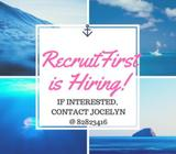 Recruitfirst is hiring for Recruiter | $7.50 + Comms | Orchard | 3 months