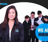 MAID AGENCY - SALES MANAGER / GOOD PAY & COMMS