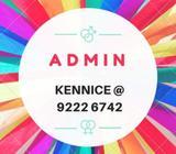 $1500 | Admin | 6 months | Bukit Panjang