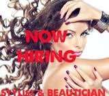 Beautician jobs