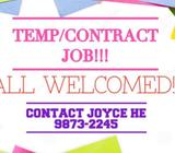 Boon Lay//Temp Operators Needed//Urgent!