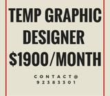 Temp Assistant Graphic Designer
