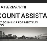 URGENT TEMP ACCOUNT ASSISTANT UP TO $3000!! EMAIL YOUR RESUME FOR INTERVIEW!!