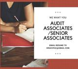 General Assurance - Experienced Associates / Senior Associates
