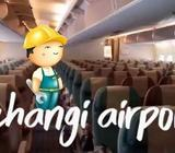 AIRPORT SERVICE WORKER (Aircraft Cabin) | CHANGI AIRPORT