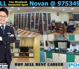 HDB 5I Admiralty Blk 720 Woodlands Avenue 6 5-Room Improved