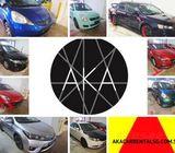 Car Rental Singapore Fri-Mon package. 98000930 P-plate welcome!