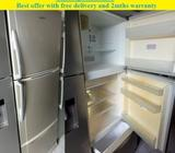 Toshiba 388L,3Doors big fridge / refrigerator ($250 + free delivery & 2mths warr