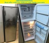 Mitsubishi (260L) 2 doors fridge / refrigerator ($240 + free delivery & 2mths wa