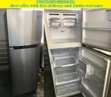 Samsung 321L, 2doors fridge / refrigerator ($340 + free delivery & 2mths warrant