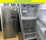 LG (423L) 2doors hugh refrigerator / fridge ($380 + FREE delivery & 2months warr