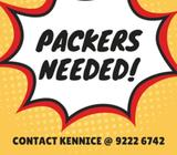 MANY PACKERS @ JURONG EAST | $7/HR