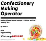 Up to $1900 - Confectionery Making Operator @ North