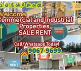 B1 B2 Industrial Commercial Space for RENT