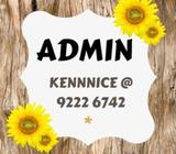 $1400  Admin  Boon Lay  No qualification needed