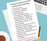 Looking for freelance creative writing instructors/interns