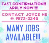$1500-$1600//Forklift Drivers Needed//Tuas