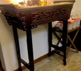 Rosewood Ming Style Altar Table