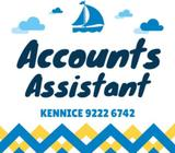 Accounts Assistant  $2500  Raffles Place
