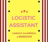 Logistic Assistant // Immediate Start Work
