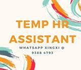 HR Coordinator ($7.50/hr, 3 months, Orchard)