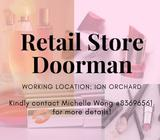 3 Months Contract Doorman | Orchard