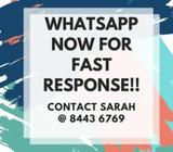 ADMIN ASSISTANT NEEDED URGENTLY! WHATSAPP FOR FAST RESPONSE!
