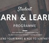 URGENT!! LEARN & EARN PROGRAMME!!