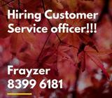 Hiring many Customer Service Executive!!! up to $2.3k!!!