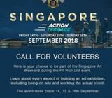 Volunteer Art Exhibition | Art Sales Representative