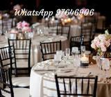 Ad-hoc banquet server
