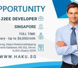 Software Engineer (Java & J2EE Developer) - Up to $6,000/mth