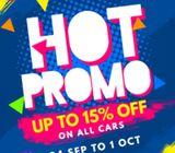 Car Rental - Mon Hot Promo (2+1)