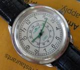 Rare Men FORTIS Military Issued Designer Winding Watch, 24 Hours, Famous SWISS Aviator's Watch Brand