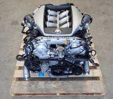 Nissan R35  GT-R VR38 VR38DETT Twin Turbo Engine 6 Speed Dual Gearbox GR6 J062
