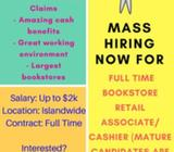 Fashion/Bookstore Retail or Cashier (Other jobs - Admin, Account, HR, Sales?) Contact too @86862139