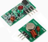 433Mhz Wireless RF Transmitter & Receiver with external antenna