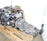 JDM TOYOTA 2JZGTE SINGLE TURBO WITH V160 GETRAG 6 SPEED TRANSMISSION